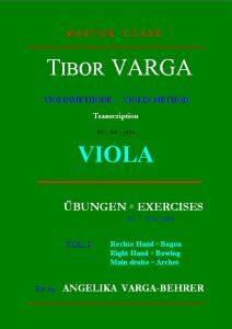 Tibor Varga Violamethode Vol. 1
