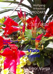 Mozart Sinfonia concertante KV 364 Viola